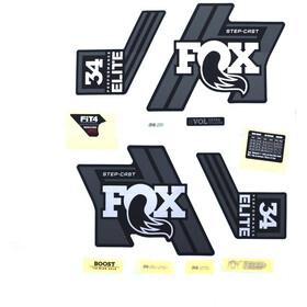 Fox Racing Shox Decal Kit for 34 SC P-SE matte black